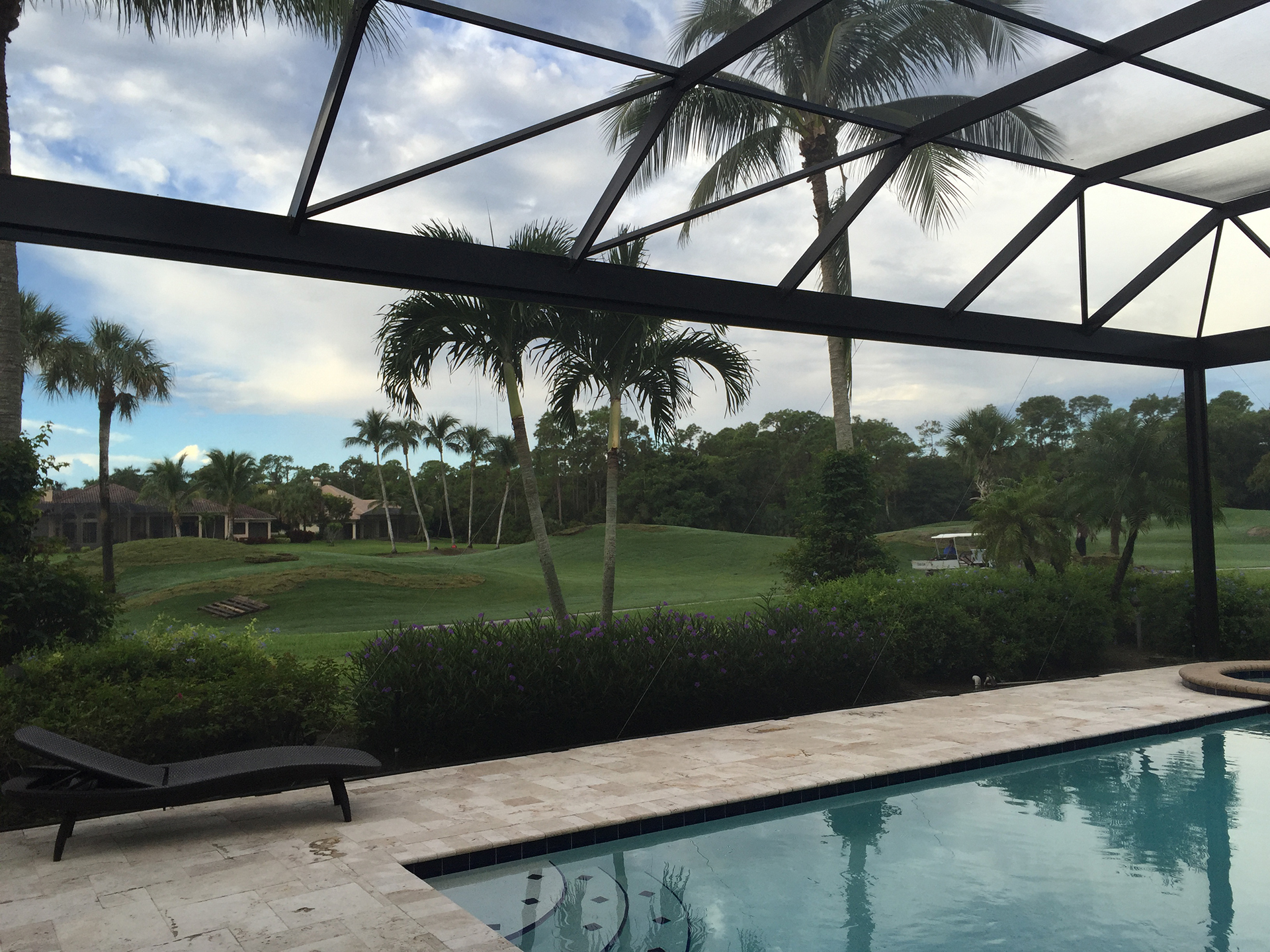 Custom pool cage screen enclosures sarasota fl for Pool designs venice